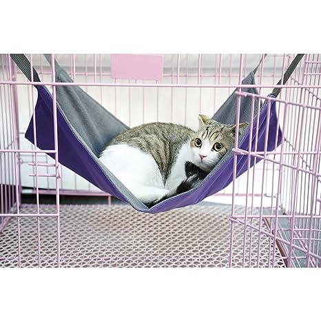 Anself - Hamaca Colgante para Gatos Perritos Mascotas,Impermeable,Capacidad Max.15kg