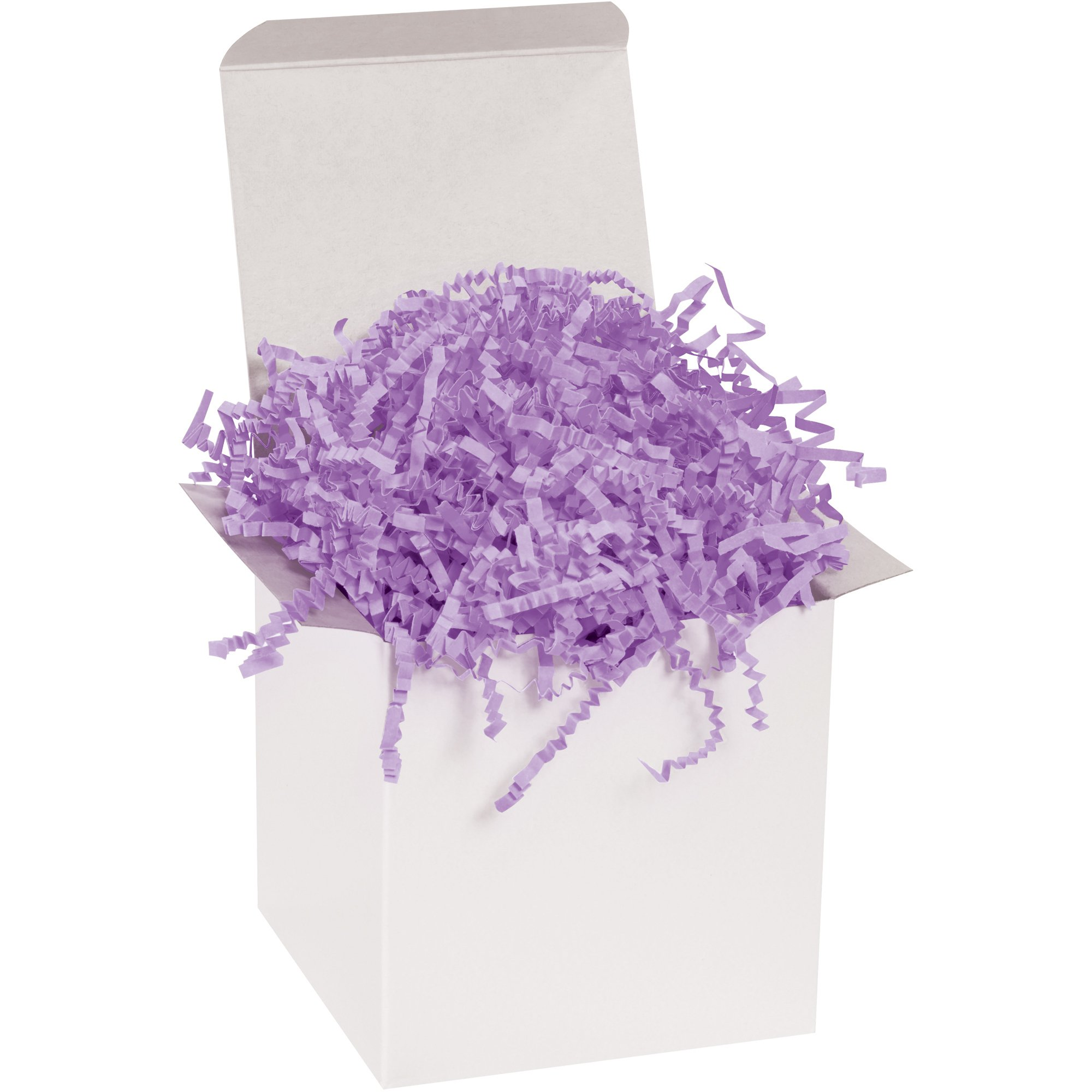 Crinkle Paper, 10 lb, Lavender, 1/Case by Choice Shipping Supplies