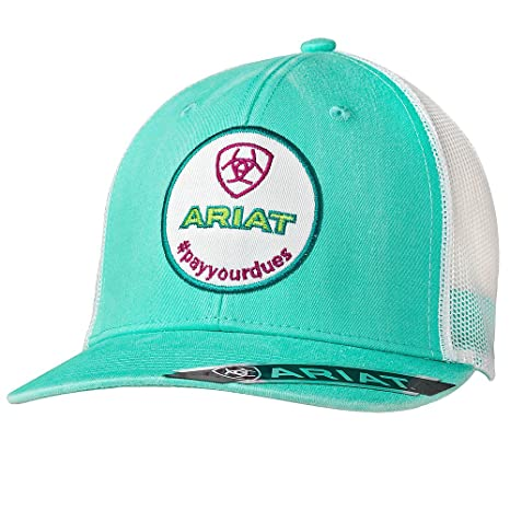 c0eabf6d581326 ... discount code for ariat turquoise womens pay your dues baseball cap os  c73e6 53655