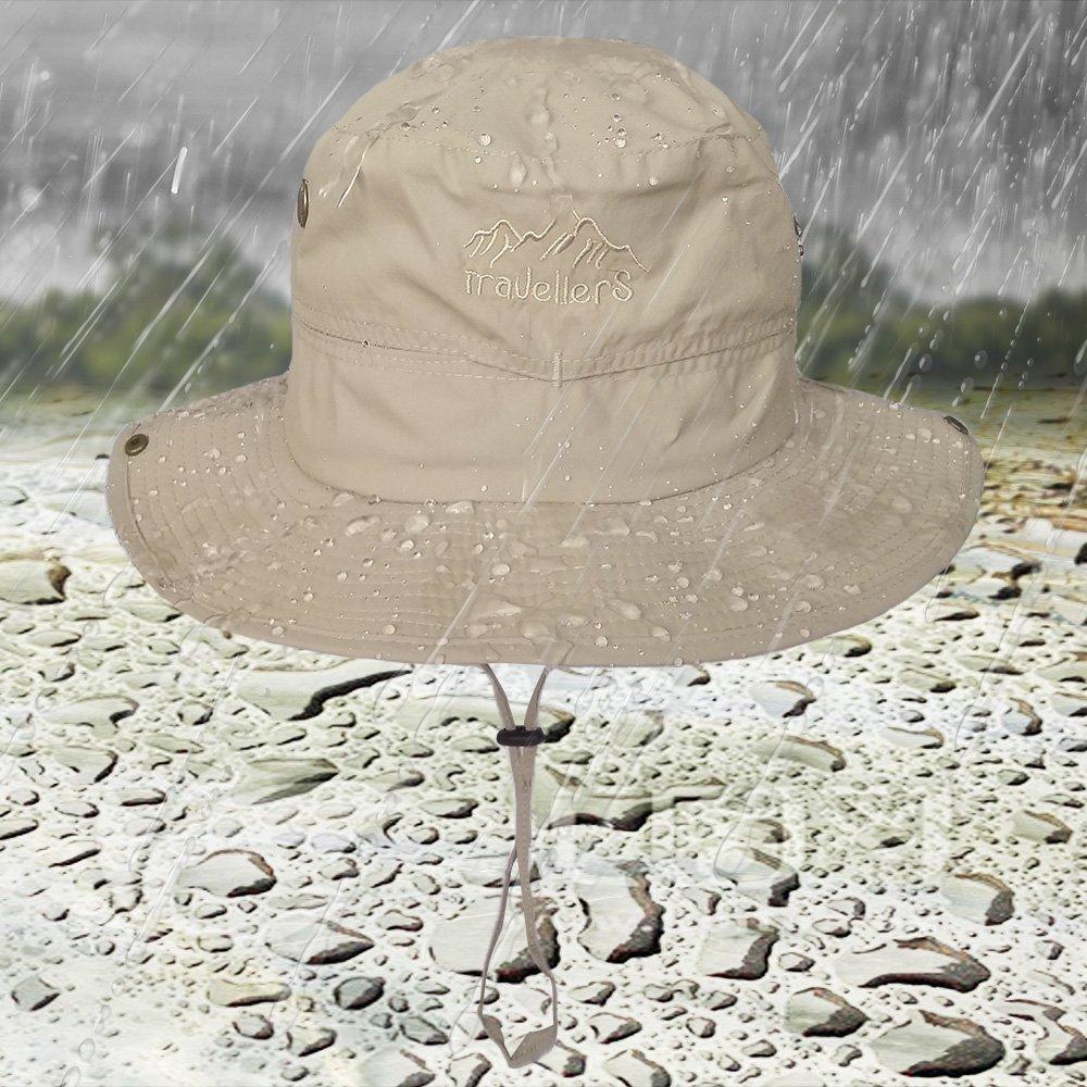 f/ür Jagd Angeln atmungsaktiv Safari LETHMIK Outdoor Boonie Hut mit breiter Krempe