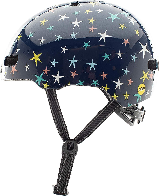 Nutcase Kinder Fahrradhelm Little Nutty MIPS Gloss 48-52 cm 10001 Stars Are Born