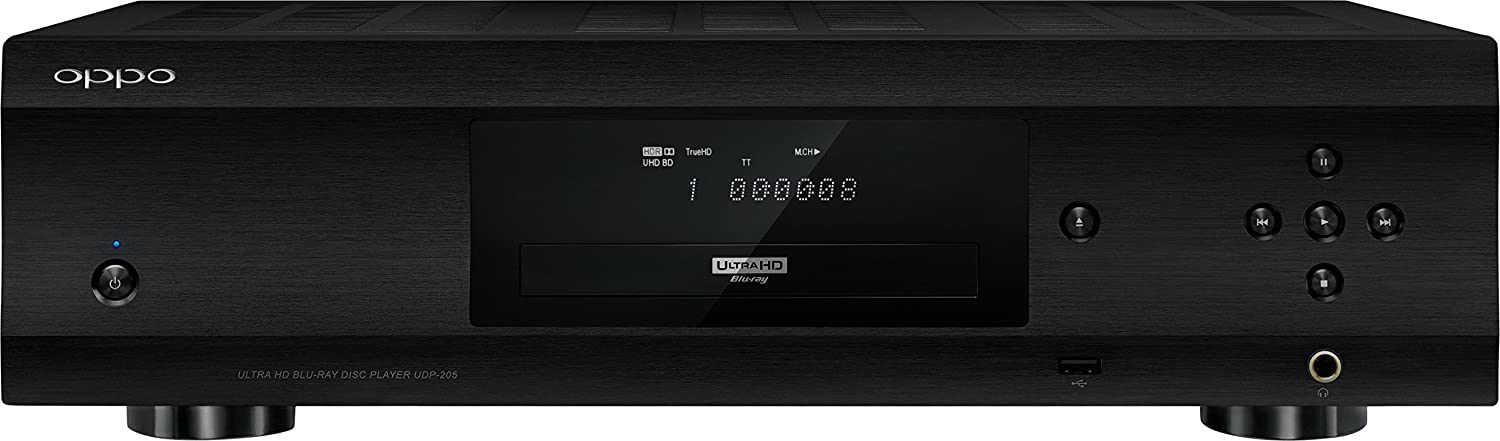 Oppo Udp 205 Ultra Hd Audiophile Blu Ray Disc Player Electronics