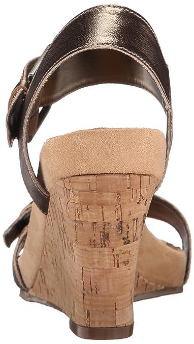 ebfa88cf23 Amazon.com | Aerosoles Women's MEGA Plush, Brass Bronze, 11 M US |  Platforms & Wedges