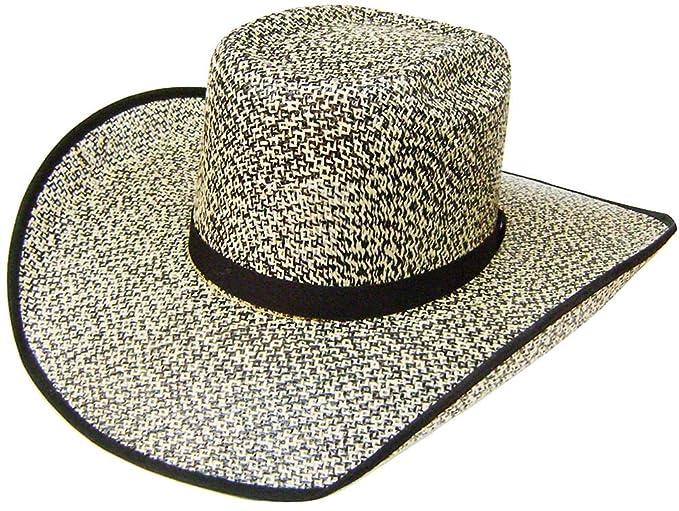 1250ad47ce9b3 Modestone Traditional Bangora Rodeo Straw Sombrero Vaquero Grey  Amazon.es   Ropa y accesorios