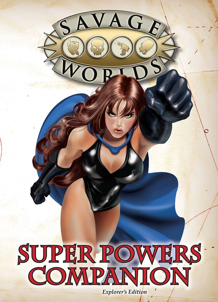 Download Super Powers Companion (Savage Worlds, S2P10501) pdf