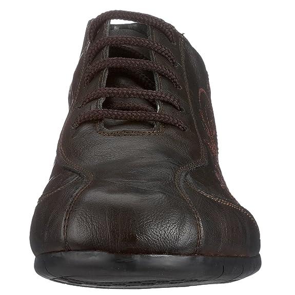 Rieker Mia L4420 27, Damen Sneaker, braun, (testadimoro 27