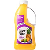 Diet Rite Cordial Drink, Fruit Cocktail, 1 l