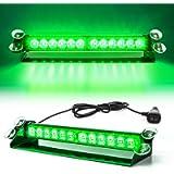 SmallFatW 12 LED 7 Flash Patterns High Intensity Emergency Law Enforcement Vehicles Truck Warning Strobe Visor Light…