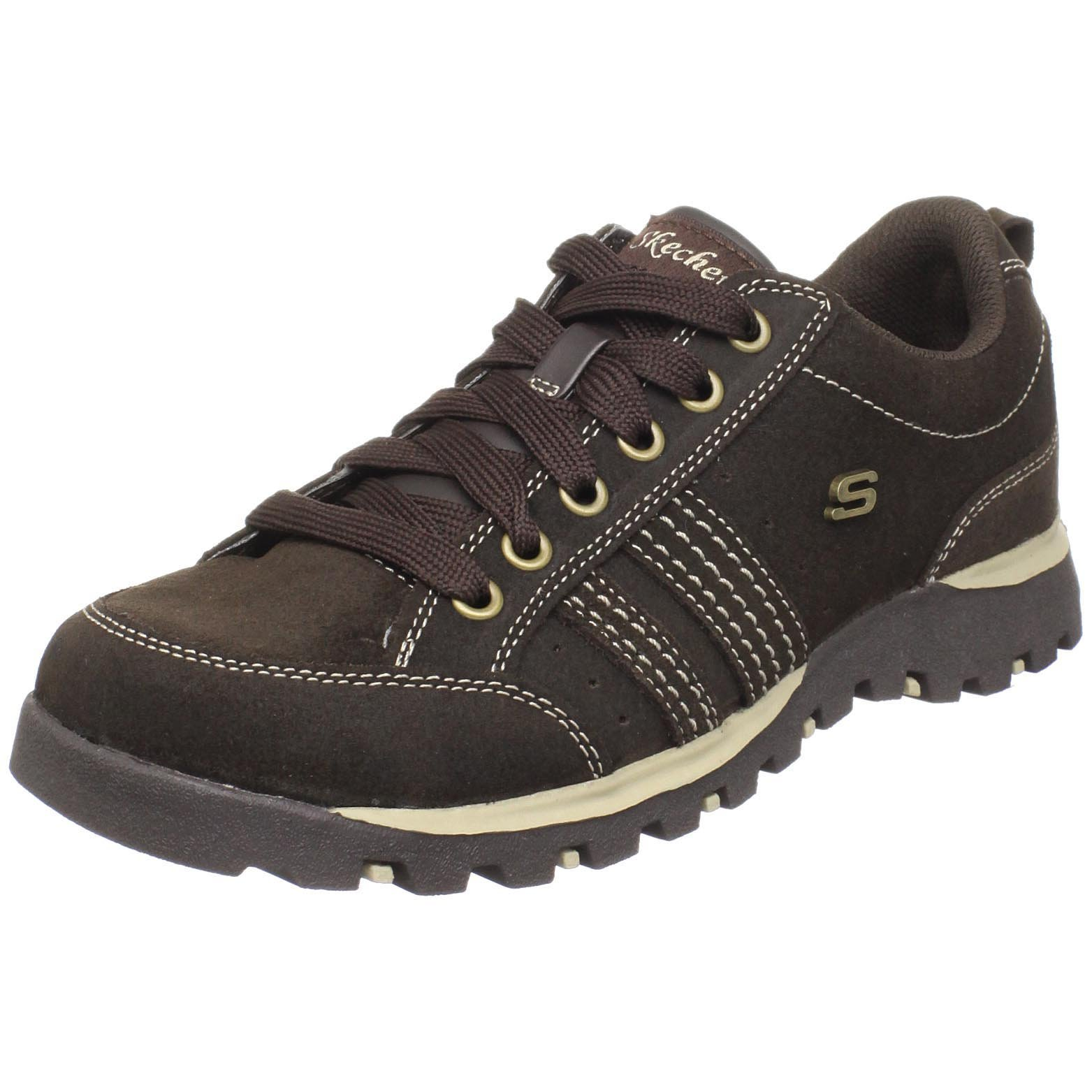 Skechers Women's Grand Jams-Replenish Sneaker,Chocolate Suede,11 M US