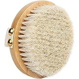 Suyika ボディブラシ 高級な馬毛100% 角質除去 全身マッサージ バス用品 お風呂用 体洗い用品 美肌 柔らかい 天然素材