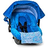 Noa Infant Car Seat Cover 5 Pc Gift Set Ultimate Baby Protection and Comfort