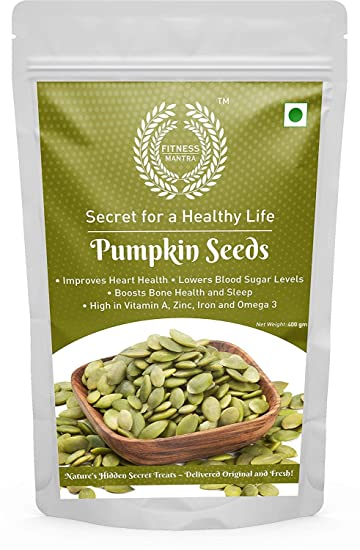 Fitness Mantra Pumpkin Seeds Pouch, 400 g: Amazon.in: Grocery