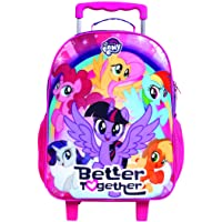 Mala Escolar G com Rodinhas My Little Pony, 11503, DMW Bags