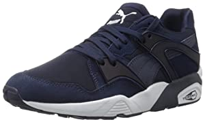 PUMA Men's Blaze Fashion Sneakers, Peacoat, 11 D US