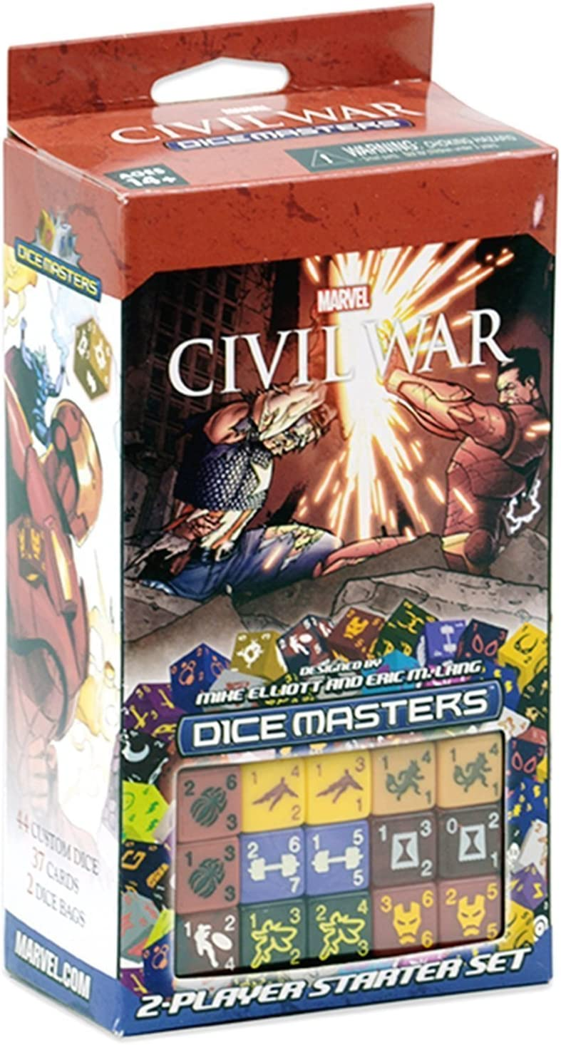Marvel Dice Masters Civil War - Starter: Amazon.es: Juguetes y juegos