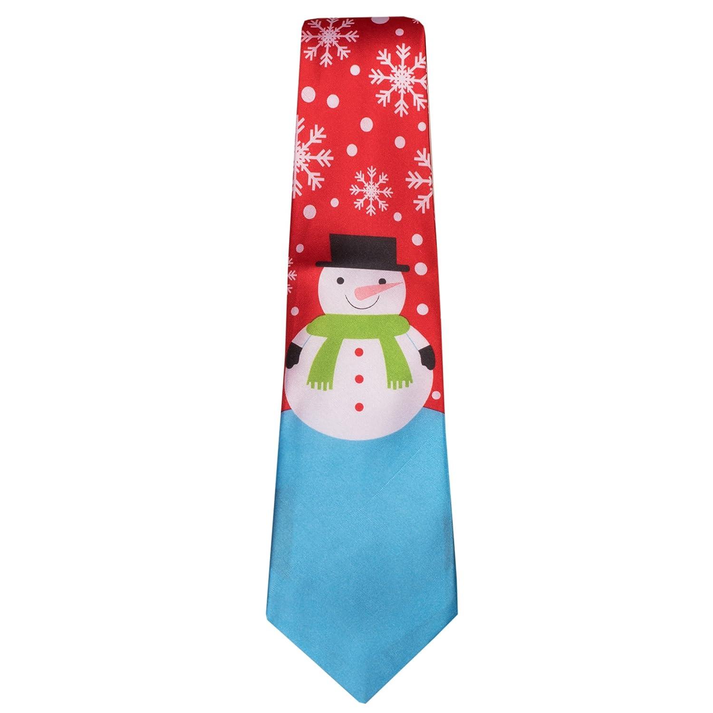Christmas Tie.Ties19 Mens Novelty Christmas Tie Xmas Tree Santa Reindeer Hohoho Christmas