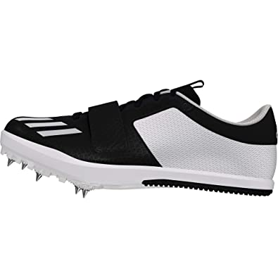 the latest 517b3 c5fd5 adidas Men s Jumpstar Track   Field Shoes, Black (Negbás Ftwbla 000), ...