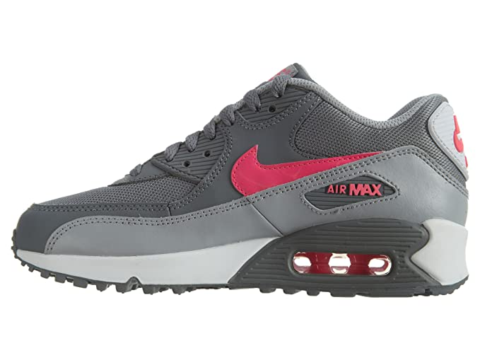 247c362f8a Nike Unisex Kids' Air Max 90 Mesh Low-Top Grey: Amazon.co.uk: Shoes & Bags