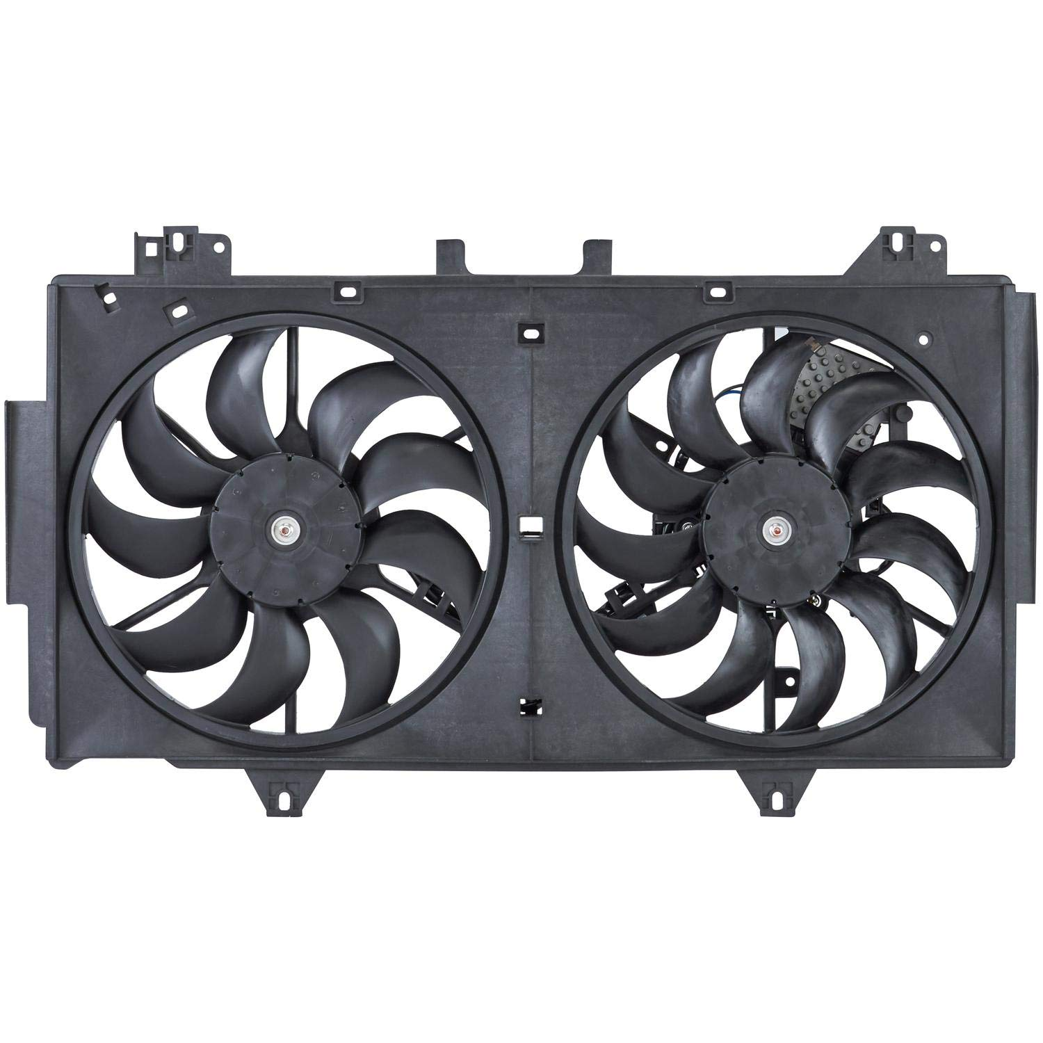 Spectra Premium CF21027 Dual Radiator And Condenser Fan Assembly