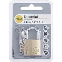 Yale YE1/30/115/1/B Candado de Seguridad de Arco Corto