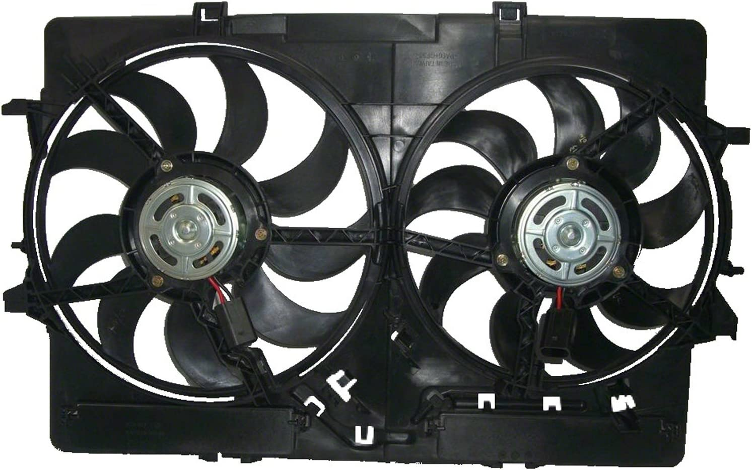 allroad CPP Radiator Cooling Fan Assembly for Audi A4 Q5 AU3115113 A5