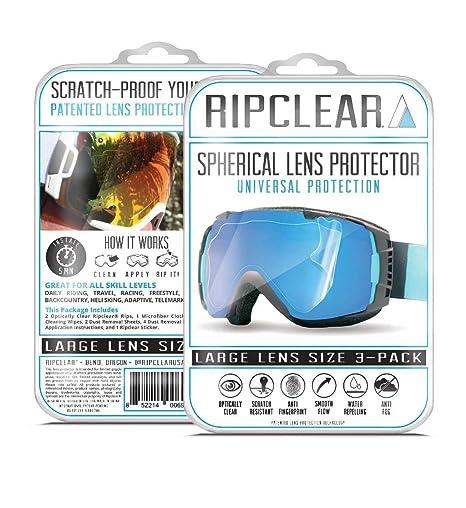eaedbd4916 RIPCLEAR Smith I O X Snow Goggle Lens Protector Kit - Scratch-Resistant