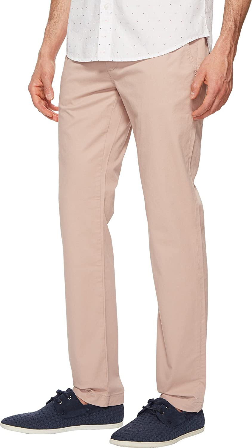 99f74914 Amazon.com: Ted Baker Men's Procor Solid Chino Pants Dusky Pink 28 R ...