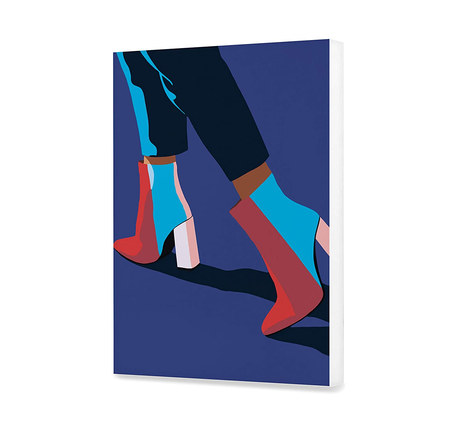 Shoes Paints by number DIY kit DIY High Heels Paint by Number Fashion Kit Acrylic Women Legs Painting Home Decor Art Home Decoration EU Shipping