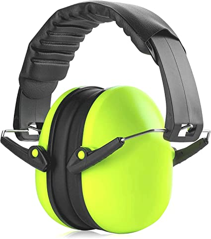 Includes Protective Travel Bag Yard Work HearTek Safety Ear Muffs Adjustable Noise Canceling Ear Hearing Protection for Shooting Firing Range Job Sites /& More for Adults Women /& Kids