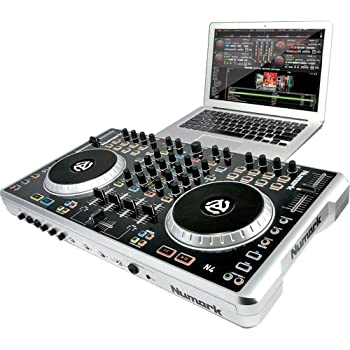 numark n4 4 deck digital dj controller and mixer musical instruments. Black Bedroom Furniture Sets. Home Design Ideas
