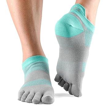 Toesox - Calcetines de las mujeres rendimiento Lolo cinco dedos bajo Rise deporte no show toesocks: Amazon.es: Deportes y aire libre