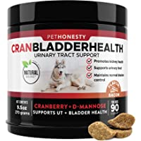 PetHonesty Cranberry for Dogs - Soft Chew Supplements, Kidney and Bladder Support, Dog UTI - Urinary Tract Health UT…