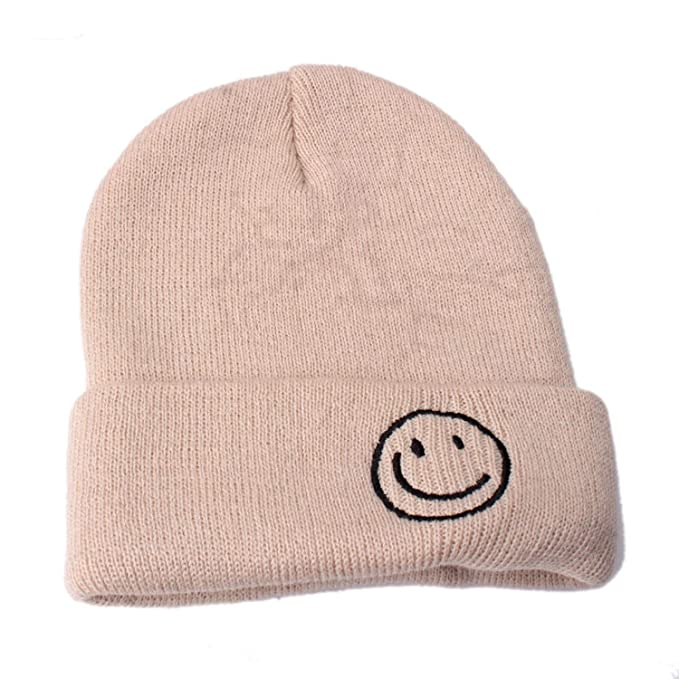 Comforable Smile Baby Winter Hats Knit Keep Warm Hat Beanie Hat Cap Knitted  Beanies Cap Thick Cap at Amazon Women s Clothing store  b37717188