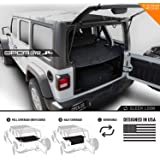 GPCA Wrangler 2018-2019 JL Unlimited Cargo Cover PRO - Reversible TOP ON/Topless 4DR JL Sports/Sahara/Freedom/Rubicon…