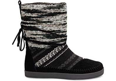 8c05d6ac3 Amazon.com | Toms Suede Jacquard Women's Nepal Boots | Shoes