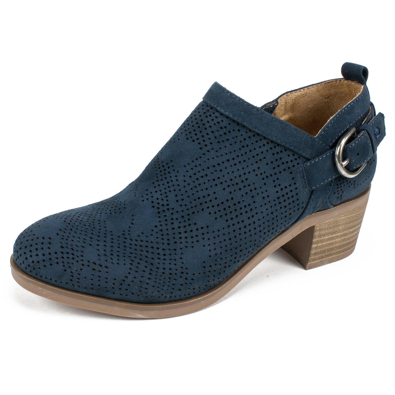 WHITE MOUNTAIN Shoes Avenue Women's Bootie B07BDJCBB4 9 B(M) US|Gray