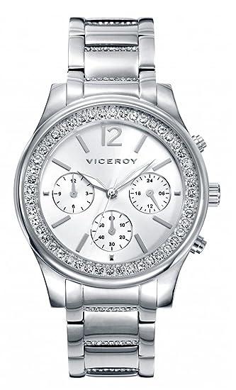 Viceroy Reloj Multiesfera para Mujer de Cuarzo con Correa en Acero Inoxidable 40848-85
