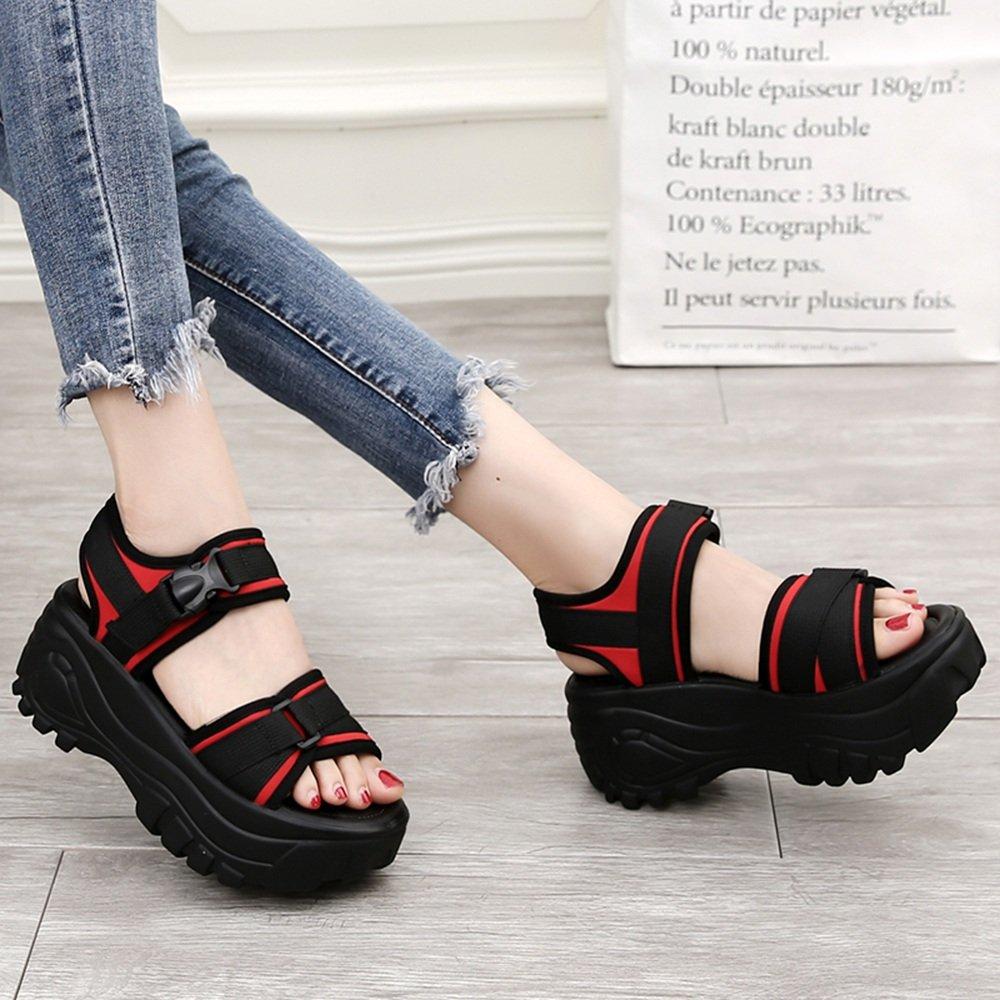 LIXIONG Tragbar Paar Pantoffeln Mode Sandalen Student flache Hausschuhe für den Sommer Modeschuhe ( Farbe : Schwarz , größe : 36 )