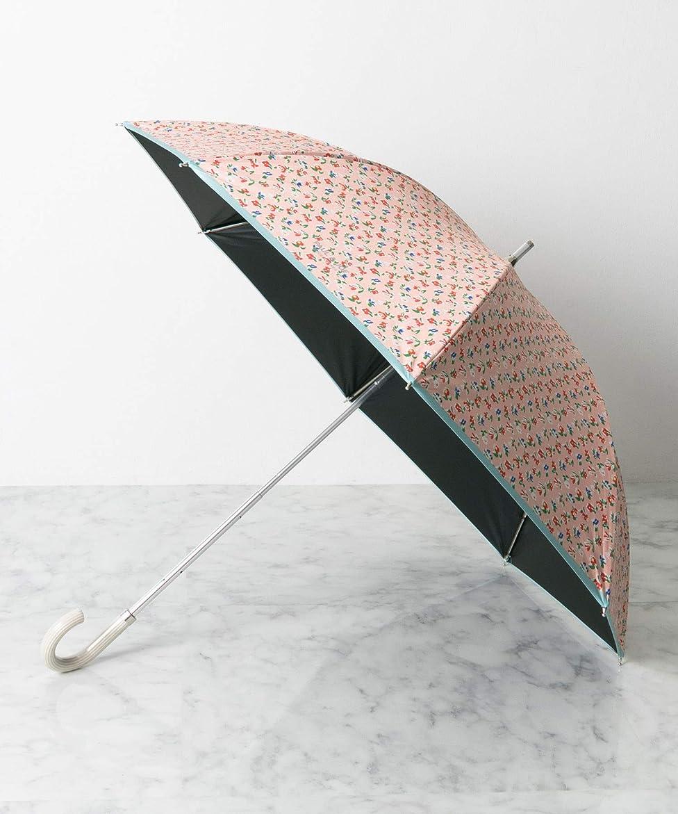 コースどんなときもモザイク[アメメ] 傘 PAUL&JOE 遮光遮熱UVカット付折畳傘小花 レディース