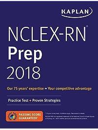 Amazon test preparation books professional college high nclex rn prep 2018 practice test proven strategies kaplan test prep fandeluxe Gallery