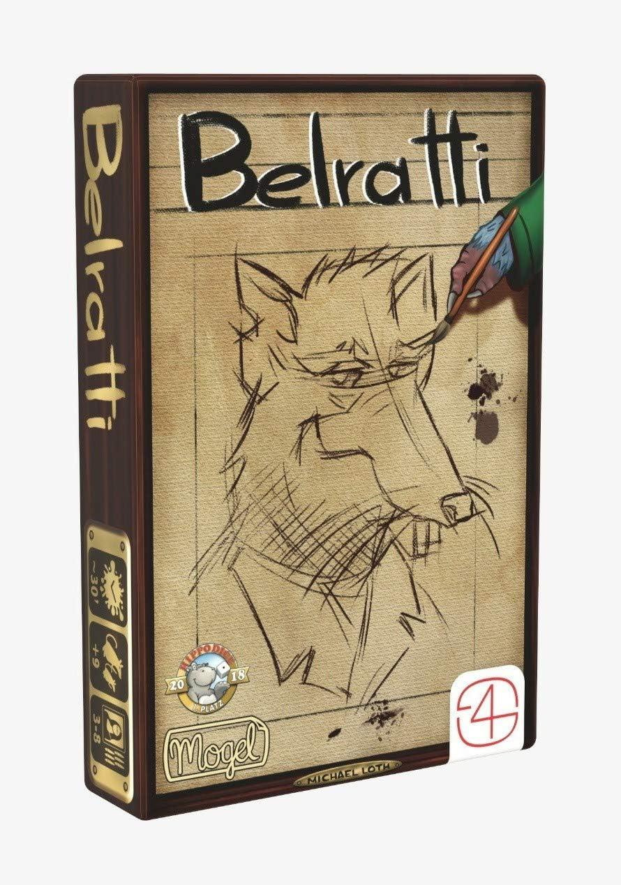 Games 4 Gamers Belratti-Juego de Mesa [Castellano], Color Marron (8436566030144): Amazon.es: Juguetes y juegos
