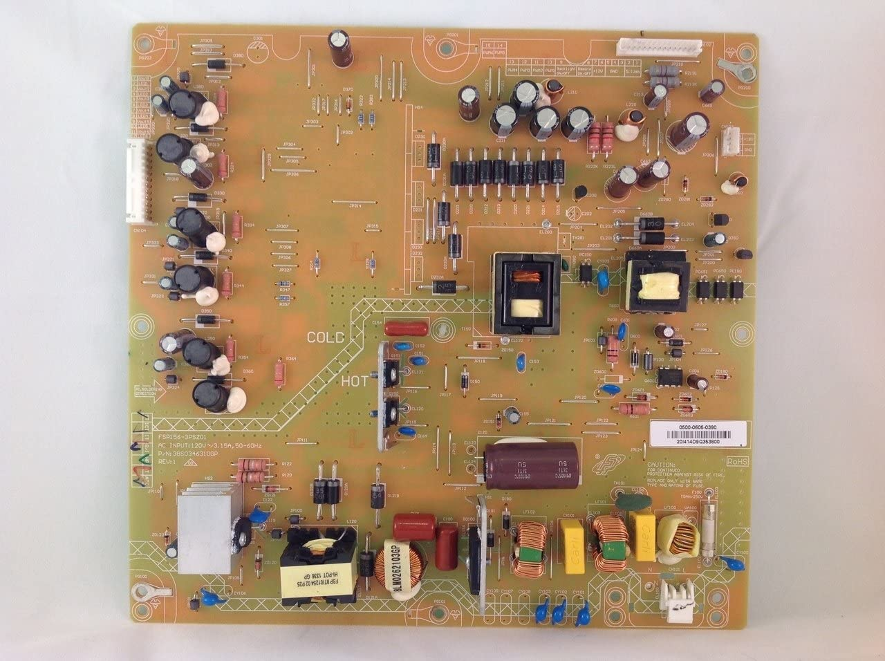 Vizio 0500-0605-0390 Power Supply Board FSP156-3PSZ01