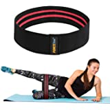 Forcefree+ Resistance Hip Bands - Exercise Bands for Leg, Thigh & Glutes and Butt, Booty - Non-Slip Workout Bands for Men and Women