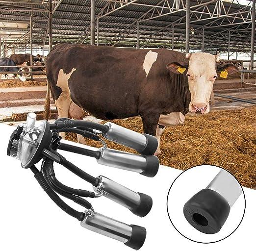 Forniture per Bestiame Vari collettori Installazione Facile per Bovini Capre Ovini Vacche da Latte AMONIDA Raccoglitore di Latte Attrezzi per la mungitura Accessorio per Macchina del Latte