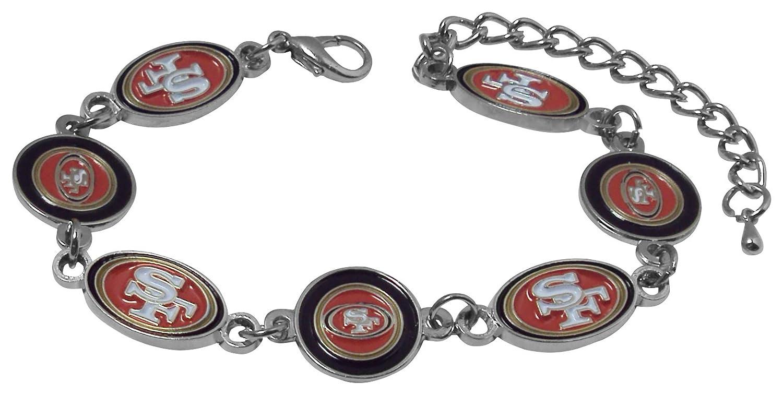 NFLロゴブレスレット San Francisco 49ers San Francisco 49ers B01LAHR7ZW
