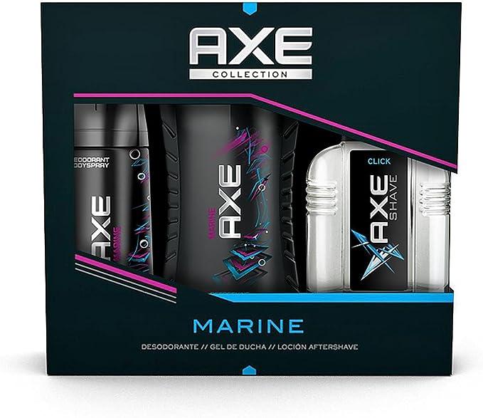 AXE Estuche Marine Desodorante Spray 150 ml + Gel 250 ml + After ...