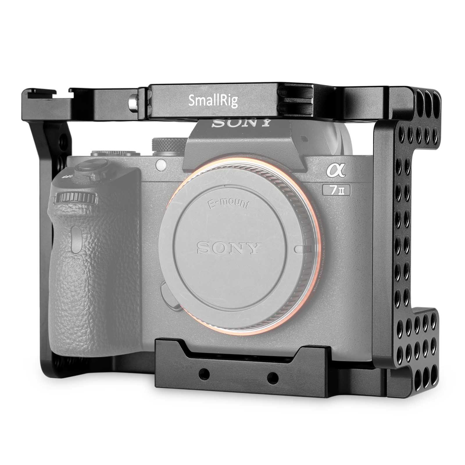 SMALLRIG Camera Stabilizer Cage for A7II A7RII A7SII ILCE-7M2/ILCE-7RM2/ILCE-7SM2 Camera - 1660