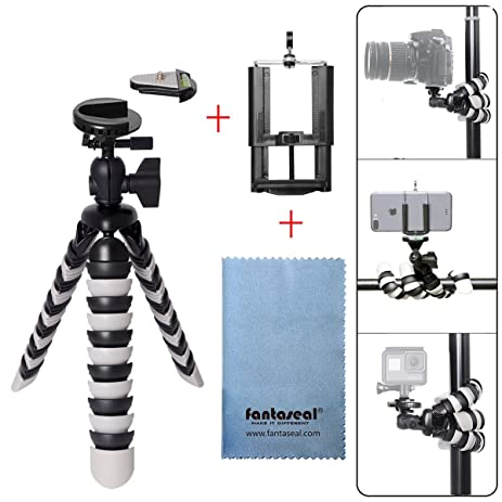 Fantaseal DSLR Camera Smartphone Mini Octopus Tripod 3 In 1 Flexible Gorillapod Outdoor