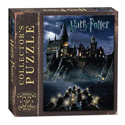 USAOPOLY World of Harry Potter 550Piece Jigsaw Puzzle | Art from Harry Potter & The Sorcerer's Stone Movie | Official Harry Potter Merchandise | Collectible Puzzle: Game: Toys & Games