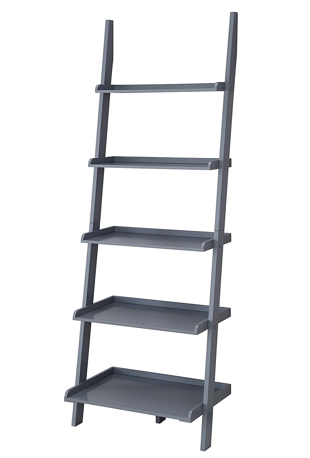Convenience Concepts American Heritage Bookshelf Ladder, Black 8043391-BL